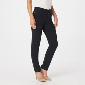WOMEN WITH CONTROL NEW Knit Fly Front Jegging